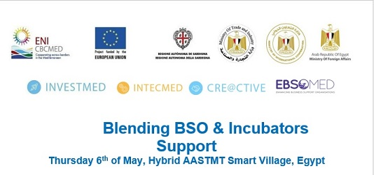 Media Coverage of Kick off and blending of 4 EU BSO support and incubator projects